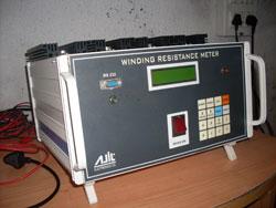 Winding resistance meter micro controller based winding for Motor winding resistance measurement